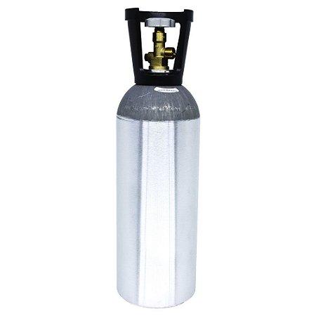 Cilindro de CO2 em Alumínio 6.8kg (com alça) – Sem Carga