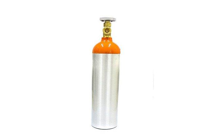 Cilindro em Alumínio para Hélio 5L – Sem Carga