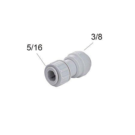 Conexao Rapida Tubo X Inox 3/8 X 5/16