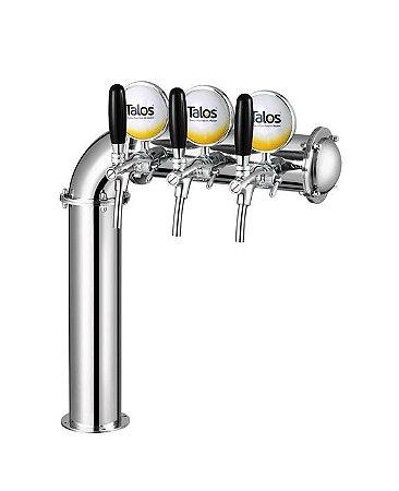 Torre de Cerveja Tipo L (3 Saídas - Lado direito) - Talos