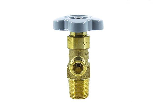 Válvula Para Cilindro Aço Para Oxigênio - Entrada W28,8