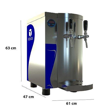 Chopeira Eletrica Slim Compact 100L/H 02T 220v (Inox) Ice Box**