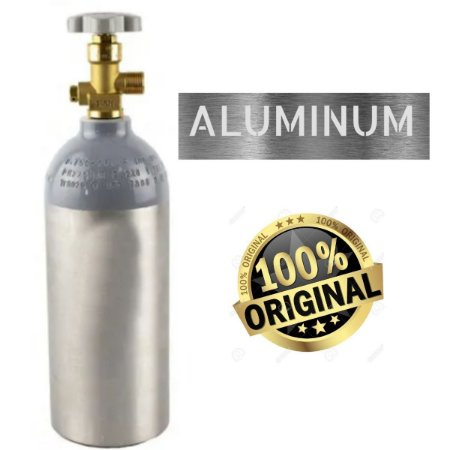 Cilindro de CO2 em Alumínio 1,13kg (Portátil) - Sem Carga