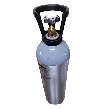 Cilindro de CO2 em Alumínio 4.5kg (com alça) – Sem Carga