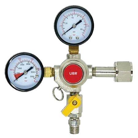 Regulador de Pressão CO2 para Chopp 1 saída ROSCA - CGA320