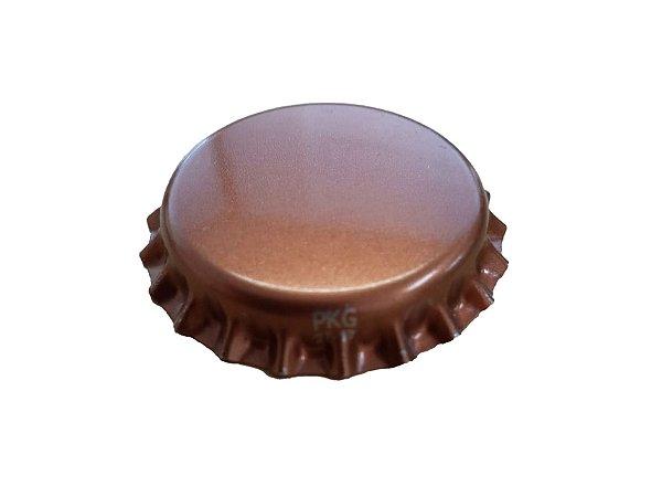 Tampinhas Garrafa Cerveja Pry Off  - Cor Cobre (Kit com 1000 unidades)