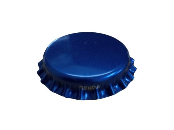 Tampinhas Garrafa Cerveja Pry Off  - Cor Azul (Kit com 1000 unidades)