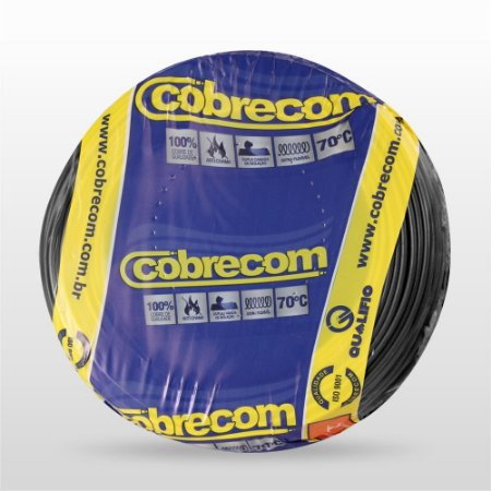 CABO FLEXIVEL SING 750V 1.5MM PT (RL) COBRECOM 1150404401