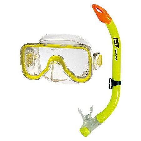 KIT de máscara e snorkel kids (infantil)