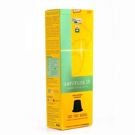 Café Orgânico Cápsulas | Cartucho 10 capsulas - compatível Nespresso