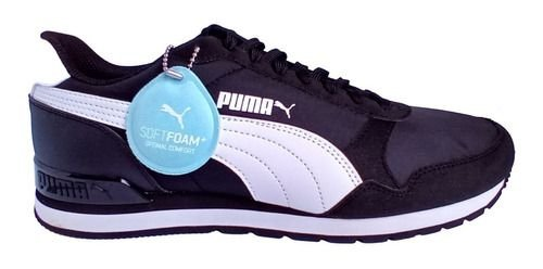 Tênis Puma St Runner V2 N L - Preto E Branco - Unissex