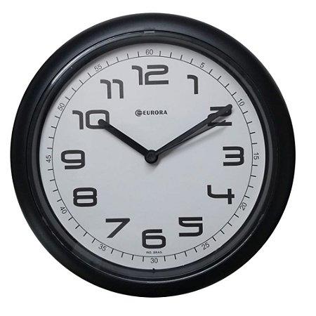 Relógio de Parede Eurora 651700 Preto