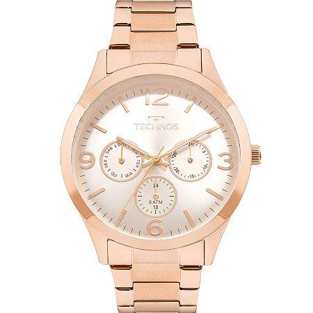 Relógio Technos Analógico Elegance - Rose Gold 6P29AJM/4K - Multifunção