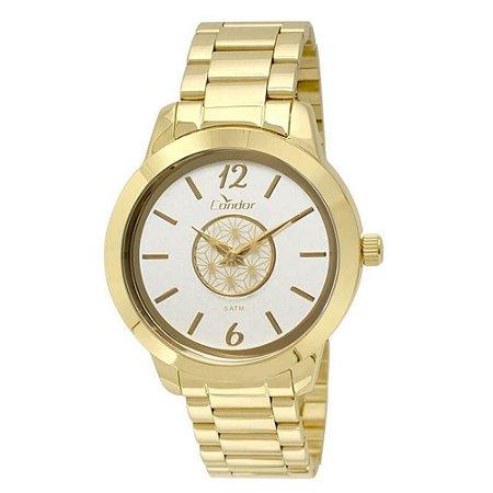 Relógio Condor Feminino Co2035kst/4b Mandala Dourado