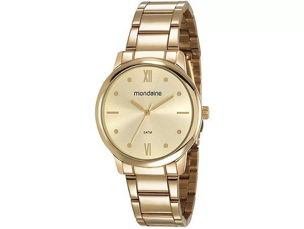 Relógio Feminino Mondaine Analógico - 53805LPMGDE1 Dourado