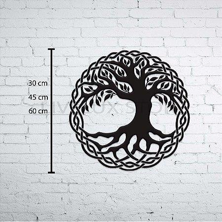 Árvore da Vida Escultura de Parede