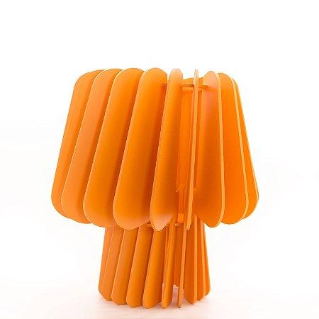 Abajur Cogumelo Luminária de Mesa - Mamão
