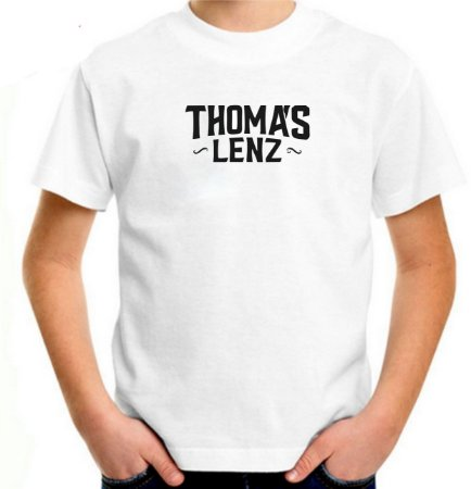 Camiseta Infantil branca logo 2019-2020