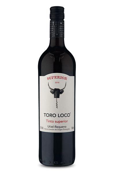 VINHO ESPANHOL TORO LOCO TINTO UTIELl REQUENA TEMPRANILLO 750ML