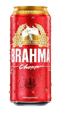 CERVEJA LATA CHOPP BRAHMA 473ML