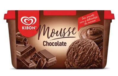 SORVETE KIBON MOUSSE CHOCOLATE 1,3L