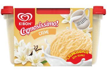 SORVETE KIBON CREMOS CREME 1,5L