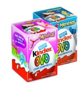 CHOCOLATE KINDER OVO MENINO/MENINA 20G