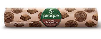BISCOITO PIRAQUE RECHEADO CHOCOLATE 200G