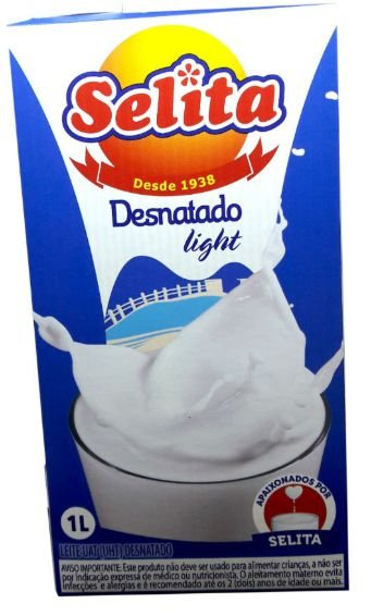 LEITE SELITA UHT DESNATADO 1LT