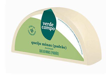 QUEIJO MINAS PADRÃO LIGHT VERDE CAMPO 330G