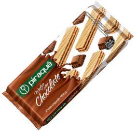 BISCOITO PIRAQUE WAFER CHOCOLATE 160G