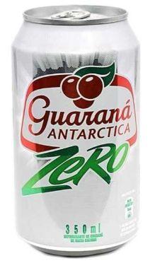 REFRIGERANTE ANTARCTICA GUARANÁ ZERO 350ML
