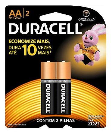 PILHA DURACELL AA-2
