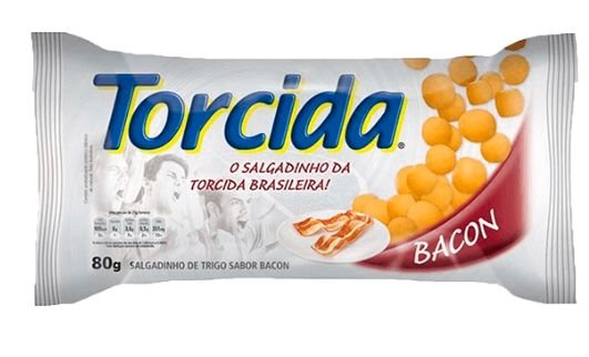 SALGADINHO TORCIDA BACON 80G