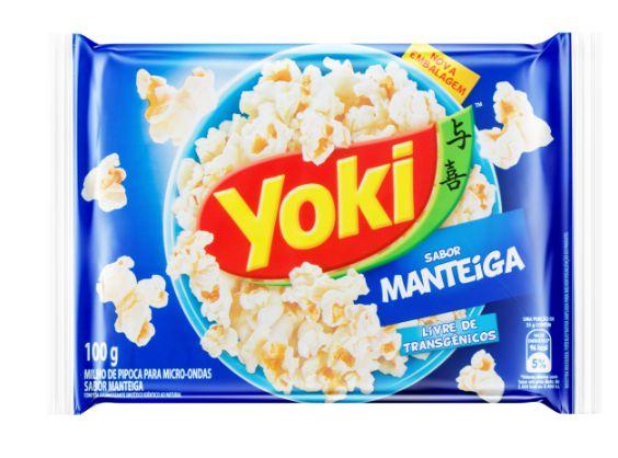 PIPOCA MICRO YOKI MANTEIGA 100G