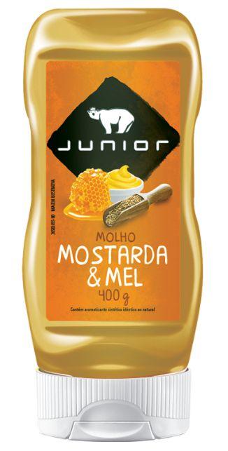 MOLHO MOSTARDA E MEL JUNIOR 400G