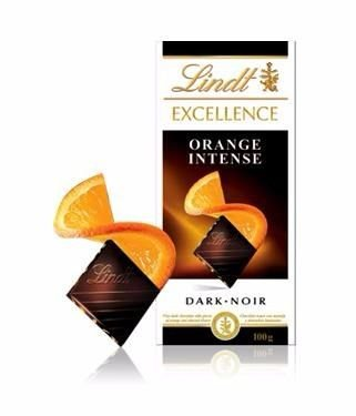 CHOCOLATE LINDT EXCELLENCE ORANGE 100G