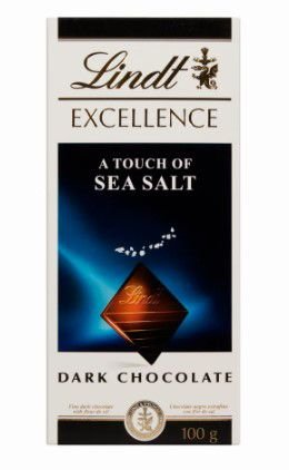CHOCOLATE LINDT EXCELLENCE SEA SALT 100G