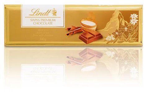 CHOCOLATE LINDT GOLD BAR MILK 300G