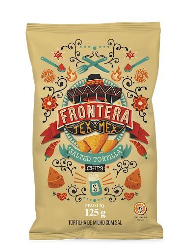 TORTILLA FRONTERA CHIPS SAL 125G