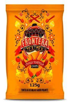 TORTILLA FRONTERA CHIPS PICANTE 125g