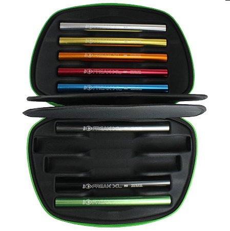 """Kit """"Completo"""" + Case Freak XL Barrel Boremaster Insert Kit Aluminum - Valor Refrência  R$ 650,00"""