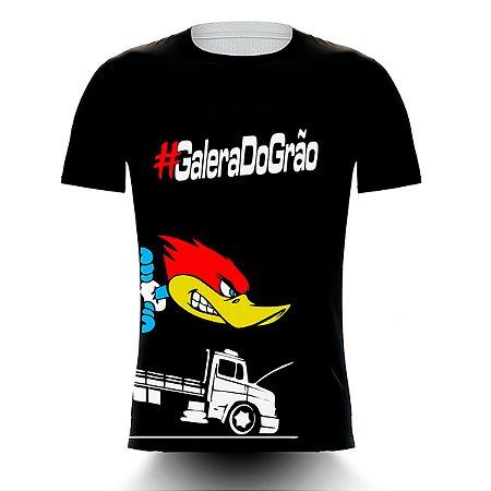 Camiseta Caminhoneiro Galera do Grão