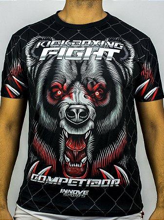 Camiseta Kickboxing Bear Fight Competidor