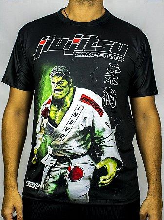 Camiseta Jiu-Jitsu Hulk Competidor