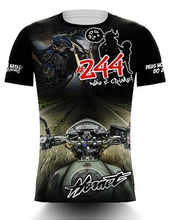 Camiseta 244 Não é Crime - Hornet