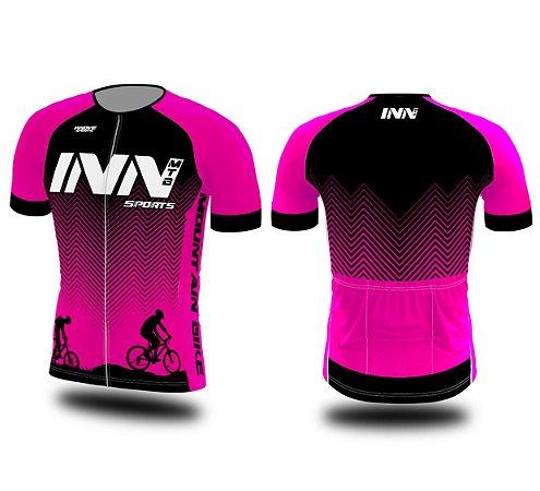 Camisa Ciclismo Zíper Longo INN Cycle Sport Ref.001