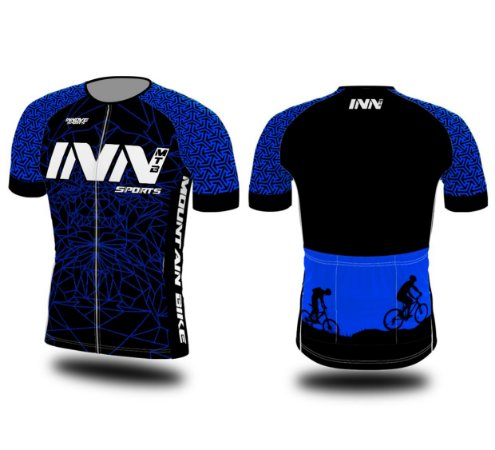 Camisa Ciclismo Zíper Longo INN Cycle Sport Ref.002