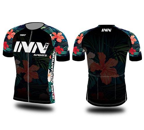 Camisa Ciclismo Zíper Longo INN Cycle Sport Ref.005