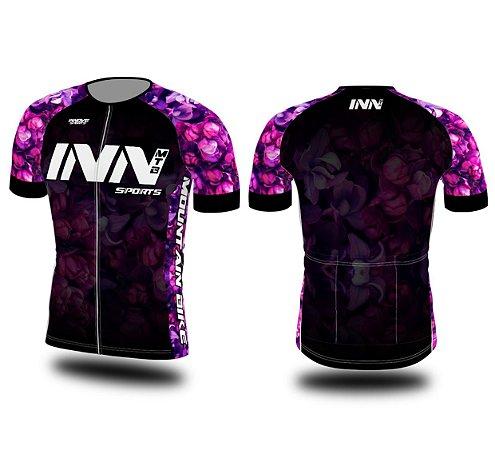 Camisa Ciclismo Zíper Longo INN Cycle Sport Ref.006